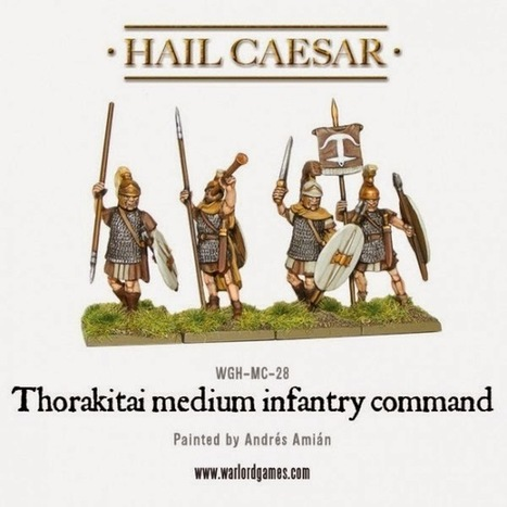 Wargame News and Terrain: Warlord Games: New Thorakitai Medium Infantry Released | CLOVER ENTERPRISES ''THE ENTERTAINMENT OF CHOICE'' | Scoop.it