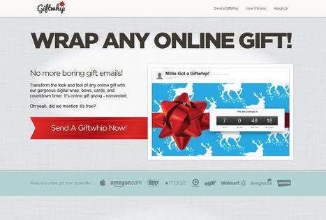 Emballez vos cadeaux virtuels! | Actualités - Nouveaux sites web & outils ! | Scoop.it