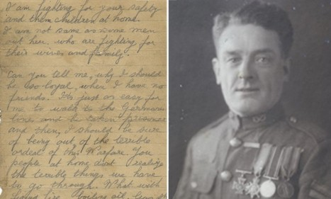WWI hero who won VC was so depressed by war he considered deserting | British Genealogy | Scoop.it