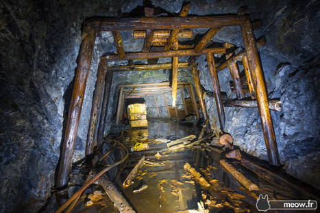 Inside an abandoned Gold Mine! Only in Japan? [OC][1800x1200] | Rebrn.com | Modern Ruins | Scoop.it