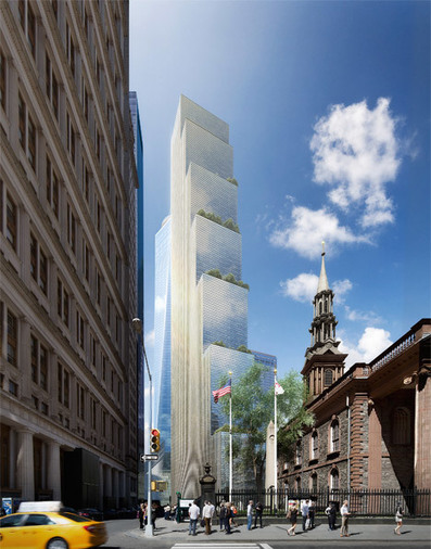 BIG unveils design for Two World Trade Center | The Architecture of the City | Scoop.it