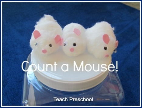 Count a mouse story telling props and game | Teach Preschool | Scoop.it