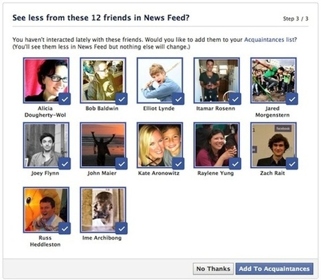 Are Facebook's Lists Making Way For Ads On The News Feed? | Facebook Daily | Scoop.it
