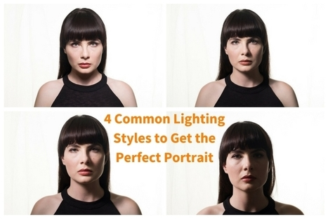 4 Common Portrait Lighting Styles | Photography Stuff For You | Scoop.it