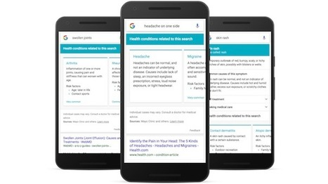 Google partners with Harvard Medical School, Mayo Clinic for symptom search   Salud Conectada   Scoop.it