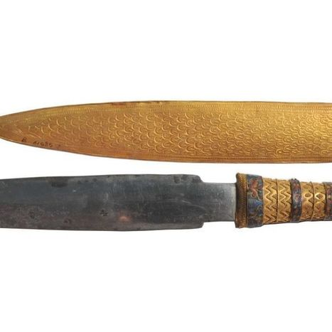 King Tutankhamun buried with dagger made of space iron | News in Conservation | Scoop.it