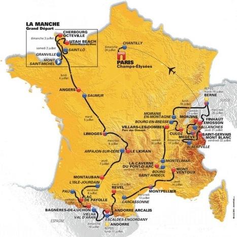 Tour de France 2016: The Route | Giro d'Italia | Scoop.it