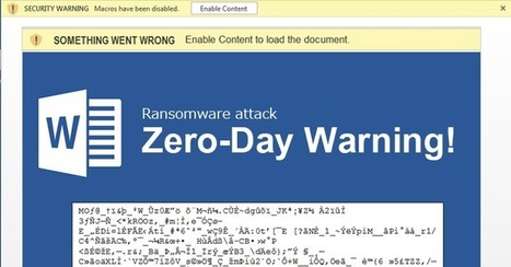 Zero-Day Warning! Ransomware targets Microsoft Office 365 Users | Jeff Morris | Scoop.it
