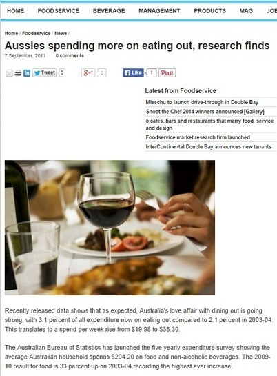 Tasty, Healthy Fish and Chips is a Match for Aussie Love of Dining Out | Hunky Dory | Scoop.it