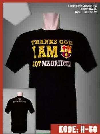 Kaos Thanks God Barcelona | Jersey Bola Grade Ori | Baju Bola | jersey | Scoop.it