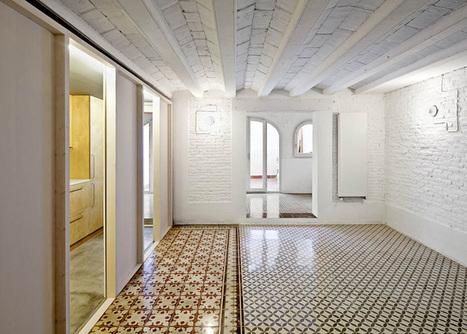 Apartment refurbishment in Gràcia by Vora Arquitectura | inquietario* | Scoop.it