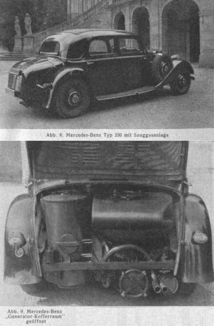 """Low-tech Magazine: Wood gas vehicles: firewood in the fuel tank 