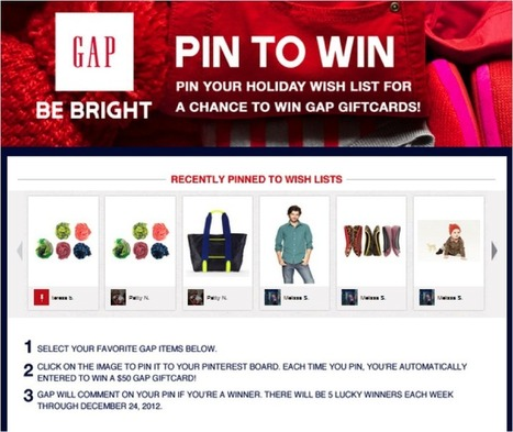 Holiday Pinterest Campaign | Pinterest | Scoop.it