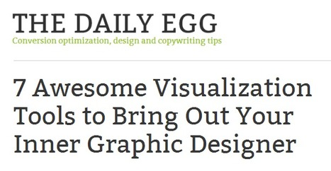6 Awesome Visualization Tools to Bring Out Your Inner Graphic Designer | Content Creation, Curation, Management | Scoop.it