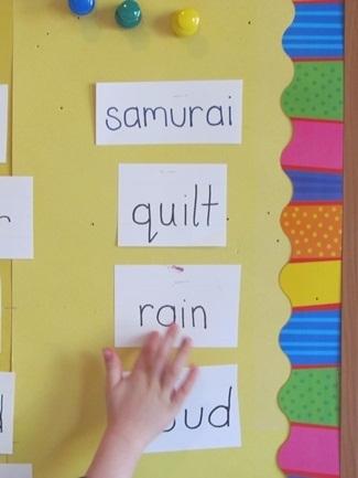 Taking the word-wall beyond the wall | Teach Preschool | Scoop.it