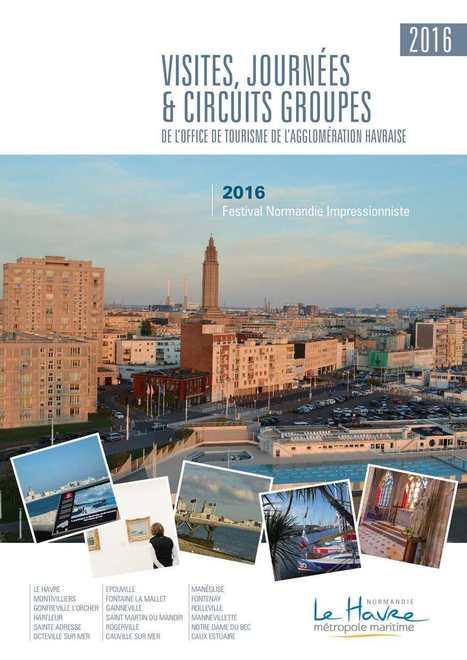 Visites, journées et circuits groupes - Edition 2016 | Centrale thermique EDF du Havre | Scoop.it