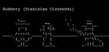covertress: ASCII Art Six Line Challenge | ASCII Art | Scoop.it