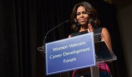 Michelle Obama announces free Coursera credentials and learning hubs for US Veterans | LETU Innovation in Teaching and Learning | Scoop.it
