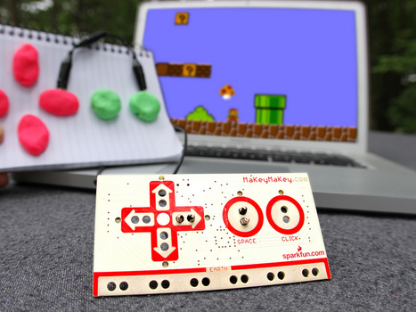 MaKey MaKey: An Invention Kit for Everyone (Official Site) | Zrób to sam 2.0 | Scoop.it