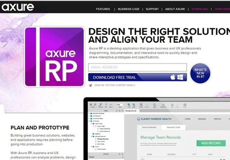 The 7 Best Prototyping Tools for UI and UX Designers in 2016 — Prototyping: From UX to Front End | DESIGN THINKING | methods & tools | Scoop.it