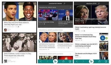 Bing App rejoint à son tour le projet AMP de Google | Référencement internet | Scoop.it