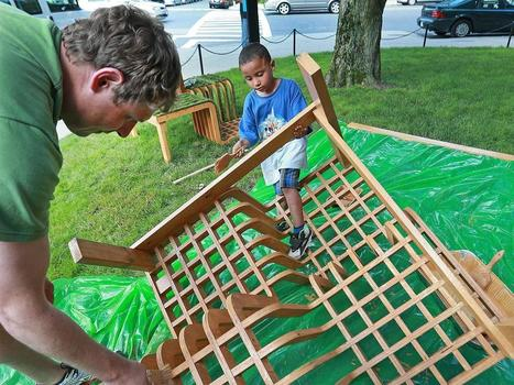 A parklet rises in Boston - The Boston Globe | sustainability and resilience | Scoop.it