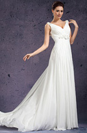 [RUB 6613,55] eDressit 2013 новое V Декольте сделанные вручную цветы бальное платье(01130807) | wedding dress | Scoop.it