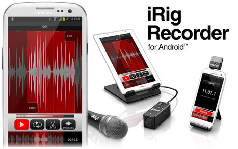 IK Multimedia | iRig Recorder for Android | Voice Recording for Productivity | Scoop.it