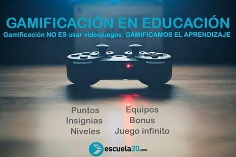 ¿Qué es la #gamificación? 6 Componentes fundamentales para llevarla al aula | Games and education | Scoop.it