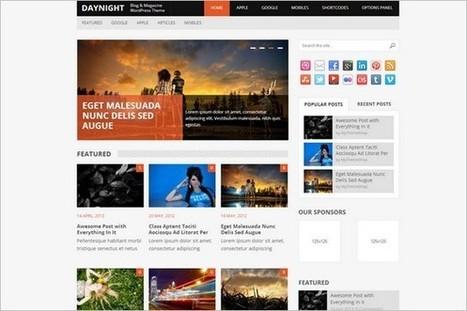 DayNight - A WordPress Theme in Magazine Style - WP Daily Themes | Free & Premium WordPress Themes | Scoop.it