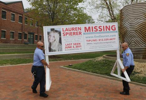 Lauren Spierer signs taken down by Bloomington city crews | Lauren Spierer | Scoop.it
