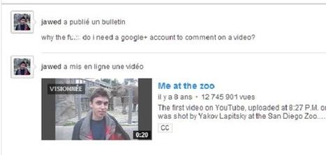YouTube : le co-fondateur outré par les nouveaux commentaires | Web Social | Scoop.it