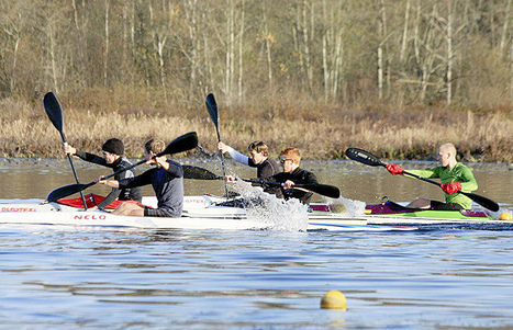 Watersports: Kayakers train with Olympians - Langley AdvanceNews | I love boating | Scoop.it