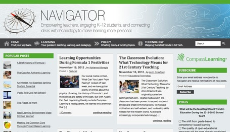 Compass Learning Navigator | A New Society, a new education! | Scoop.it