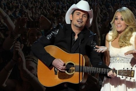 8 Unforgettable Brad & Carrie CMA Awards Moments | Country Music Today | Scoop.it