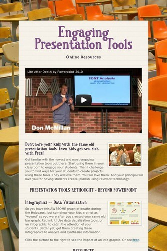Engaging Presentation Tools | Education Technology @ NWR7 | Scoop.it