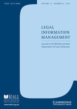 Legal Information Management - The Library Without Walls: Striving for an Excellent Law Library Service Post-Earthquake - Cambridge Journals Online | Library Collaboration | Scoop.it