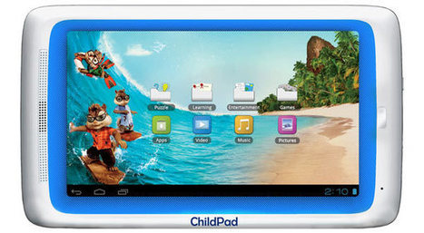 Archos Child Pad gets capacitive screen upgrade, minor price hike to $140 | Kids-friendly technologies | Scoop.it