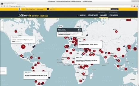 Comme Foursquare, Le Monde se lance dans l'utilisation des cartes de MapBox | So'Mediatic | Scoop.it