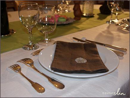 Une jolie table pour Pâques | Couturelin | decocouture | Scoop.it