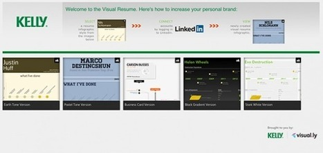 Now create infographic resumes with Visually | Techi.com | Visualisation | Scoop.it