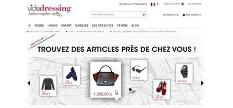 Videdressing, leader du vide-dressing communautaire | La mode vit plus fort | Scoop.it