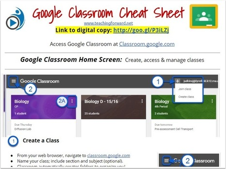 5 Google Classroom Tips & Tricks for the New Year | computer tools | Scoop.it