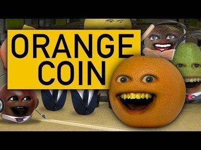 Annoying Orange - Orange Coin (Ft. iJustine, Steve Zaragoza, and Mikey Bolts) | First Topic | Scoop.it