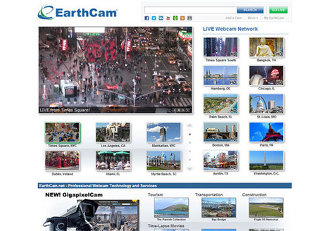 EarthCam - Webcam Network | Educ230 | Scoop.it