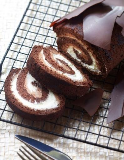 La bûche au chocolat de Trish Deseine pour 8 personnes - Recettes Elle à Table - Elle à Table | Gastronomie et alimentation pour la santé | Scoop.it