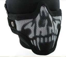 Stalker Lower Face Wire Mesh Skull Mask For Airsoft | Airsoft Paintball Mask | Scoop.it