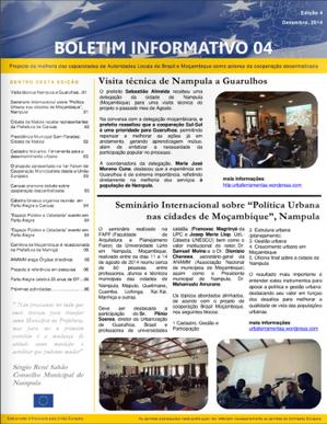 boletim informativo 03-12.2014 | Cooperação Descentralizada Brasil - Moçambique | Scoop.it