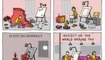 Comic: How To Be A Successful Freelancer - DesignTAXI.com | Semantic web, contents, cloud and Social Media | Scoop.it