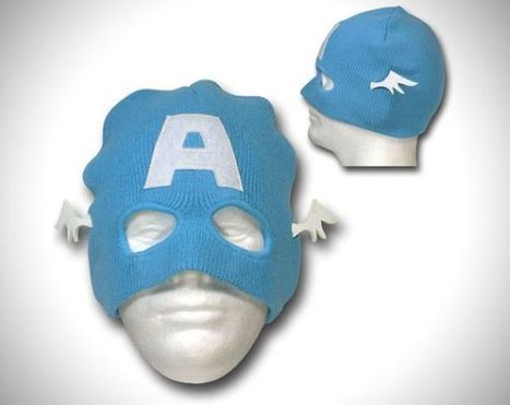 Captain America Beanie Is Perfect for Winter Crimefighting | Foresight Research Irregular | Scoop.it